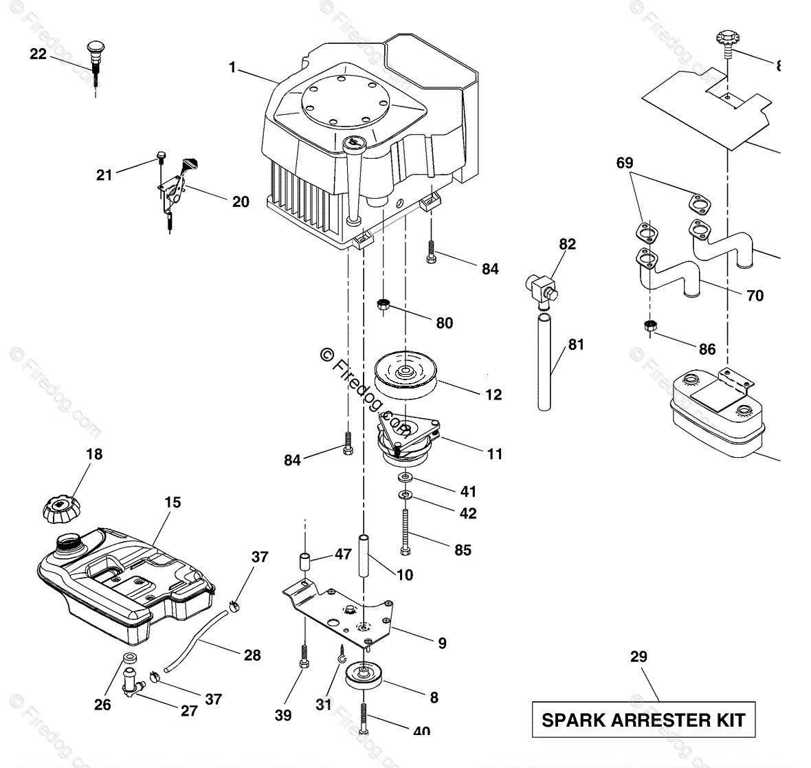 hight resolution of husqvarna ride mower gth 2548 b 954572004 2004 02 oem parts diagram for engine firedog com