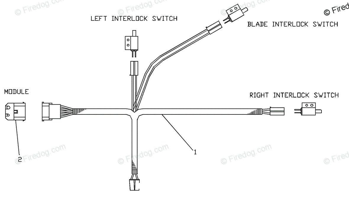 hight resolution of husqvarna walk mower turf care w 3213 a 539104773 01 2000 02 oem parts diagram for upper handle wiring harness firedog com