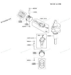 kawasaki 4 stroke engine fh500v oem parts diagram for piston crankshaft firedog com [ 917 x 1200 Pixel ]