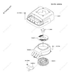 kawasaki 4 stroke engine fj180v oem parts diagram for cooling equipment firedog com [ 917 x 1200 Pixel ]