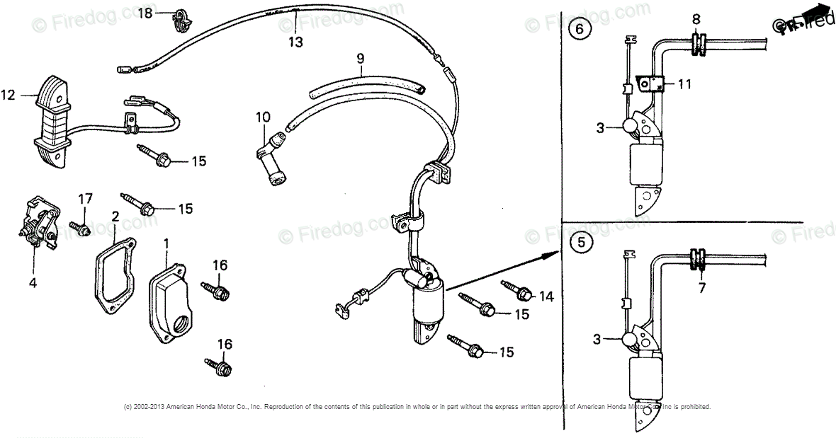 Honda Power Equipment Rototiller FR700 A ROTOTILLER, JPN