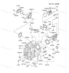 kawasaki 4 stroke engine fd661d oem parts diagram for cylinder crankcase firedog com [ 917 x 1200 Pixel ]