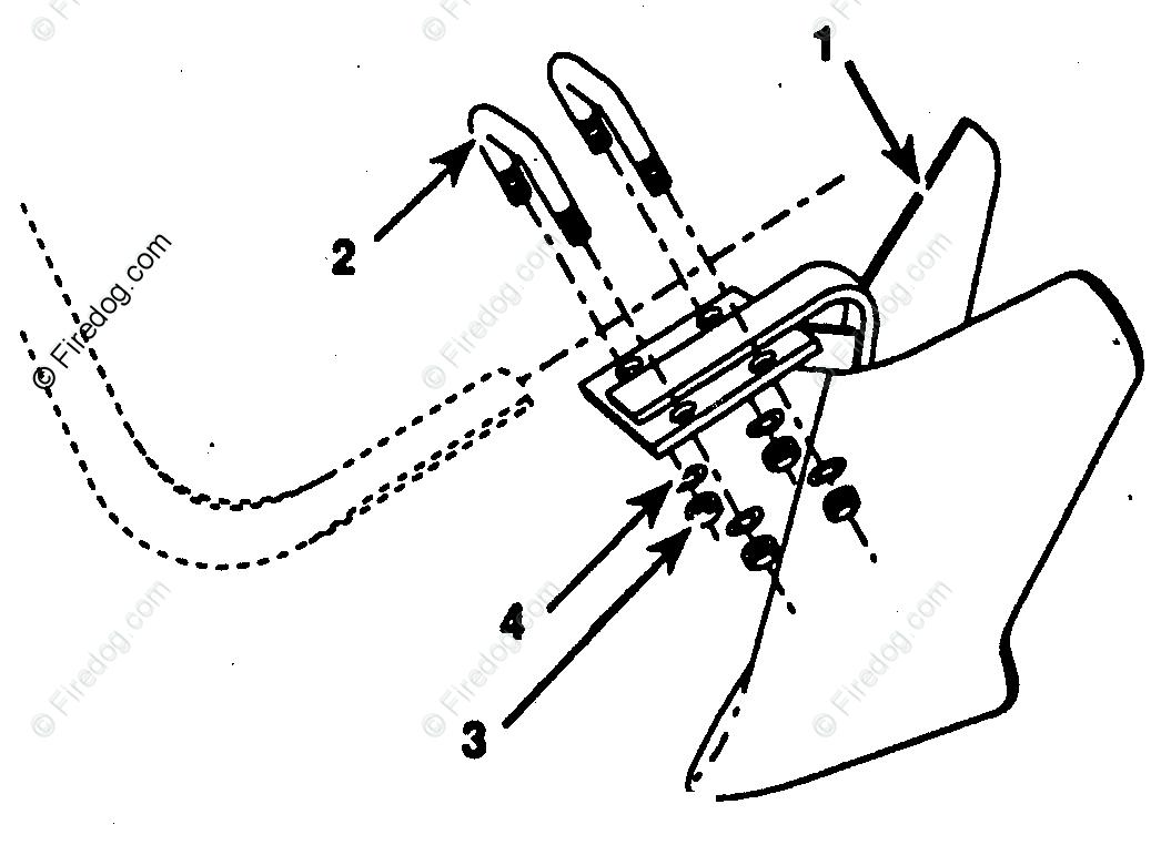 Husqvarna Tiller Accessory 10 Inch Furrower Opener (62691