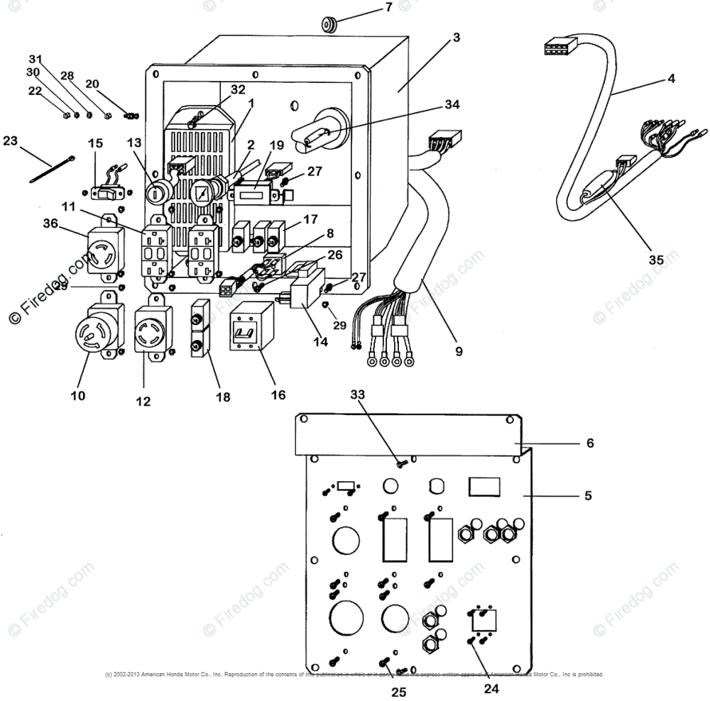 medium resolution of honda eb11000 generator wiring diagram wiring diagrams lol honda eb11000 generator wiring diagram