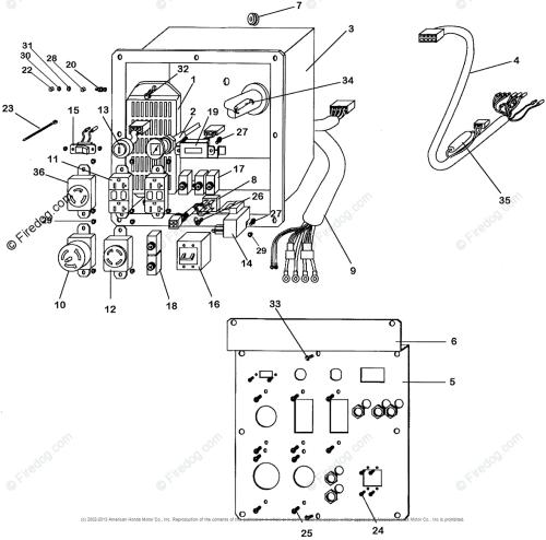 small resolution of honda eb11000 generator wiring diagram wiring diagrams lol honda eb11000 generator wiring diagram