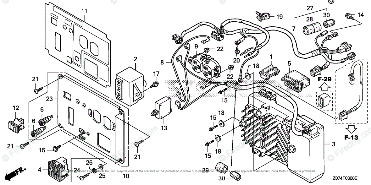Honda Power Equipment Generator EU2000I A GENERATOR, JPN