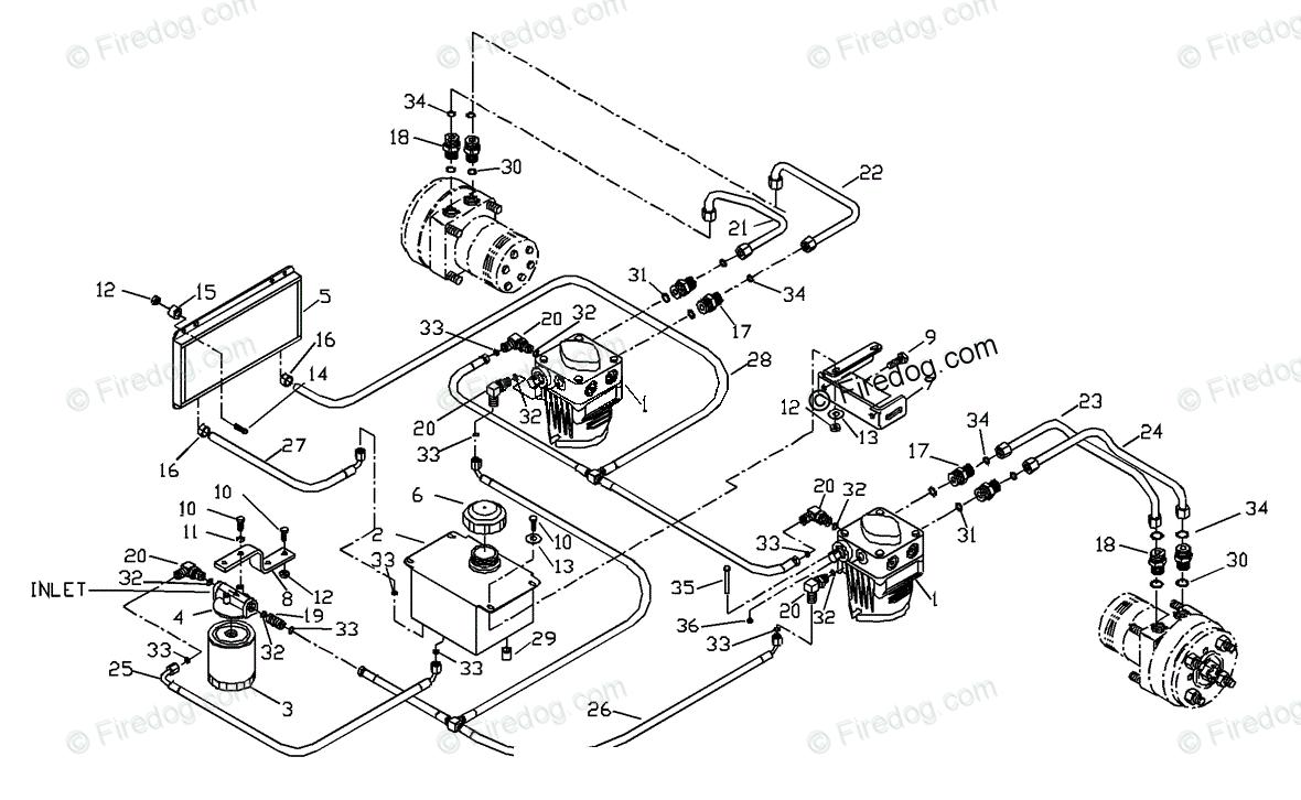Husqvarna Ride Mower (Turf Care) ZTH 6125 KOA (2000-12