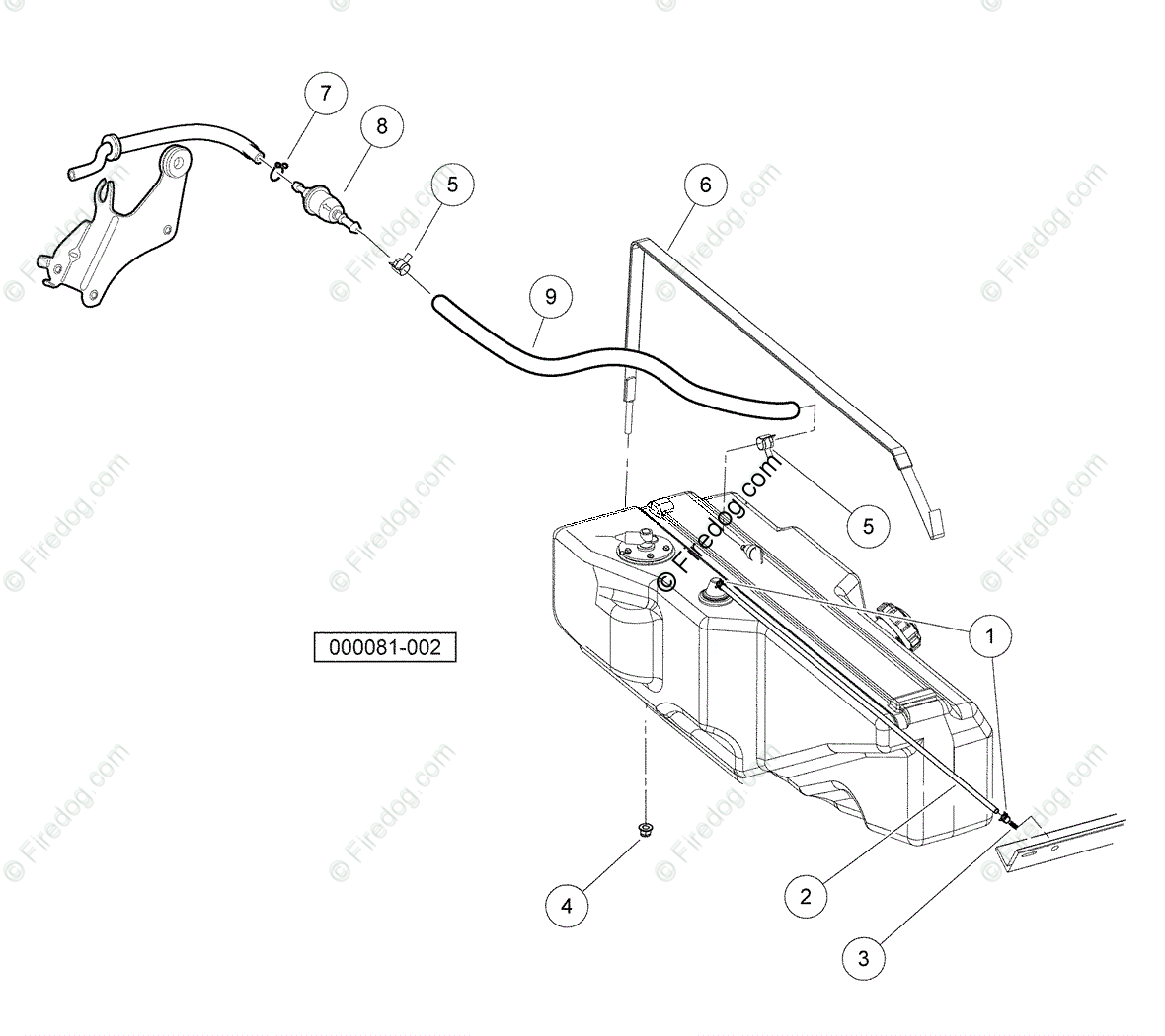 hight resolution of husqvarna utility vehicle huv 4420 2006 11 oem parts diagram for fuel system gasoline vehicles firedog com