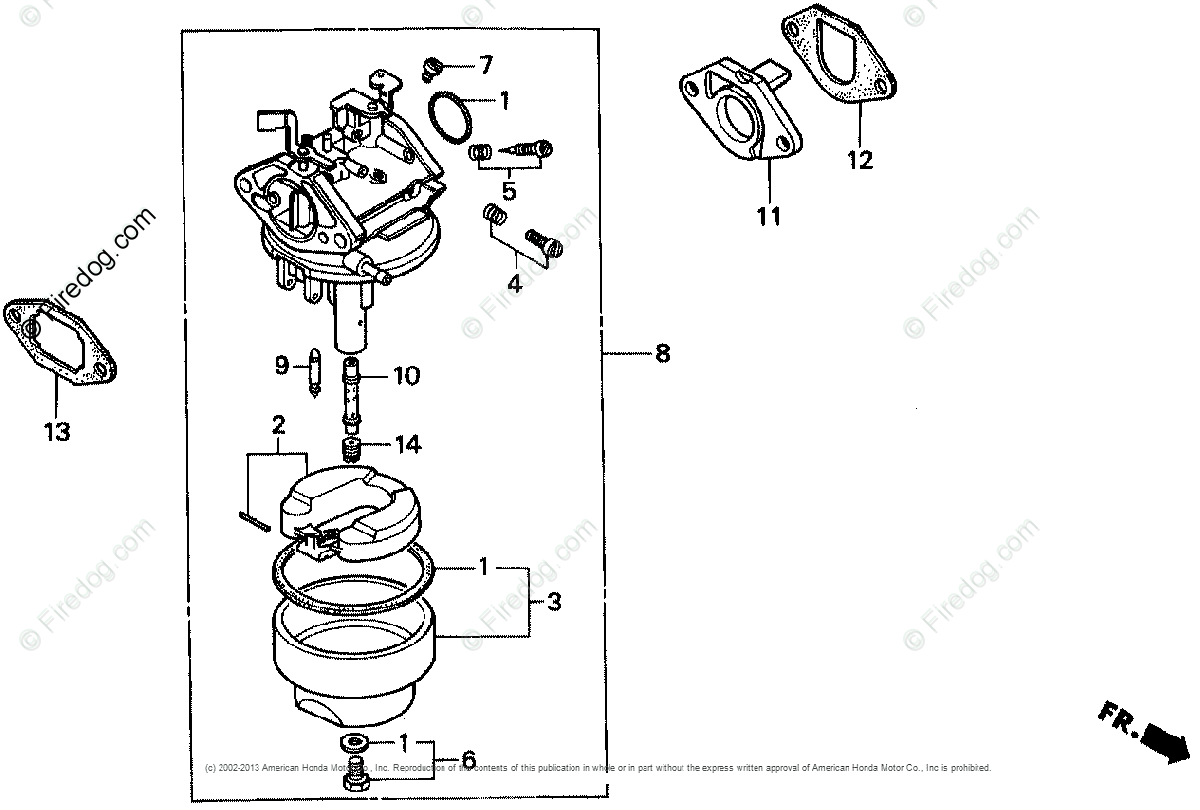 hight resolution of honda engines engine g oem parts diagram for carburetor 1 firedog com