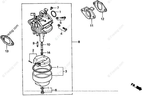 small resolution of honda engines engine g oem parts diagram for carburetor 1 firedog com