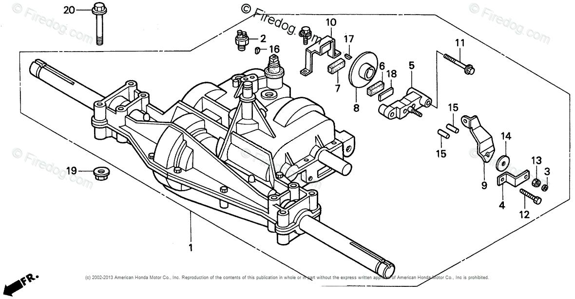 Honda Power Equipment Lawn Tractor H2013 SA LAWN TRACTOR