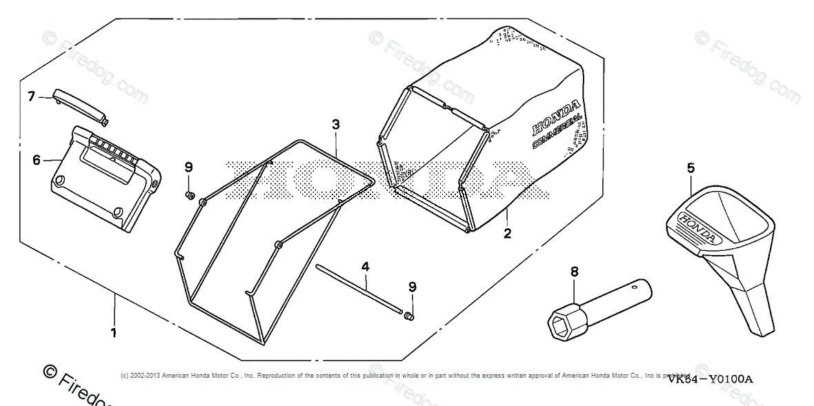 Honda Power Equipment Lawn Mower HRC216K2 HXA LAWN MOWER