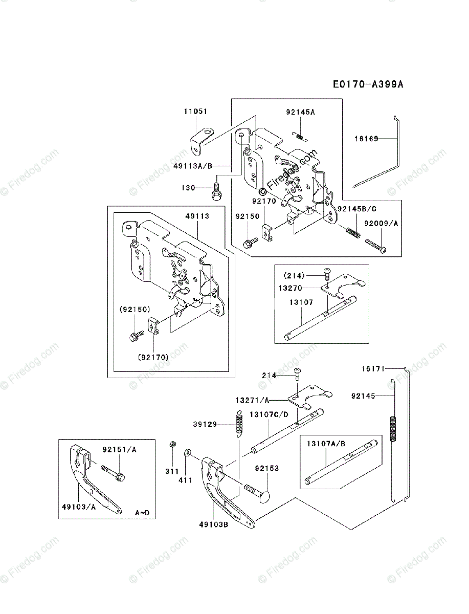 hight resolution of diagrams source kawasaki 4 stroke engine fh500v oem parts diagram for control