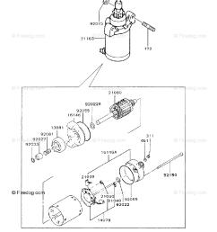 kawasaki 4 stroke engine fc290v oem parts diagram for starter firedog com [ 917 x 1200 Pixel ]