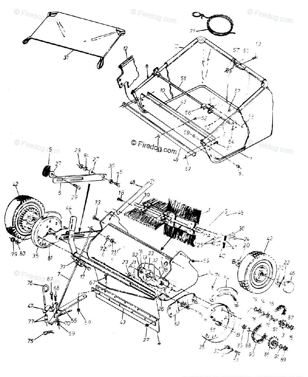 Husqvarna Accessory HS 320 (45-0209) (1992-04) OEM Parts