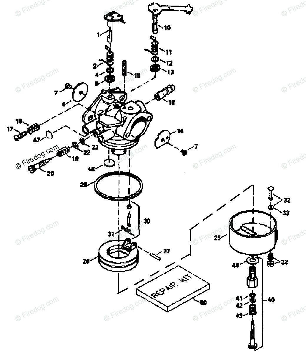 Husqvarna Engine Transaxles Tec 04 Oem Parts