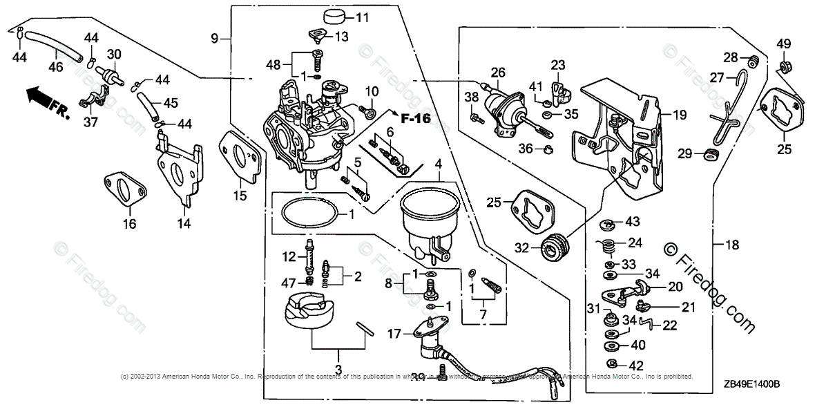 Honda Power Equipment Generator EB3500XK1 AG-B GENERATOR