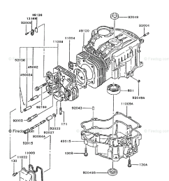 kawasaki 4 stroke engine fc540v oem parts diagram for cylinder crankcase firedog com [ 917 x 1200 Pixel ]