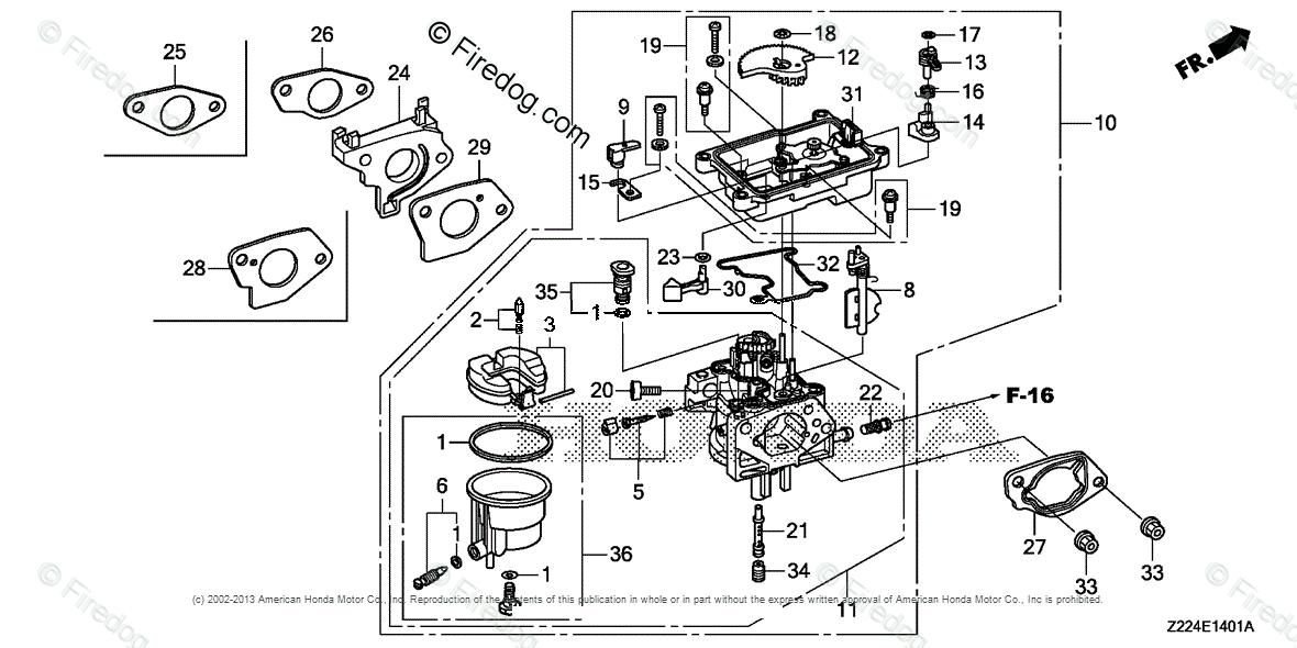 Honda Power Equipment Generator EB6500X1 AT1 GENERATOR