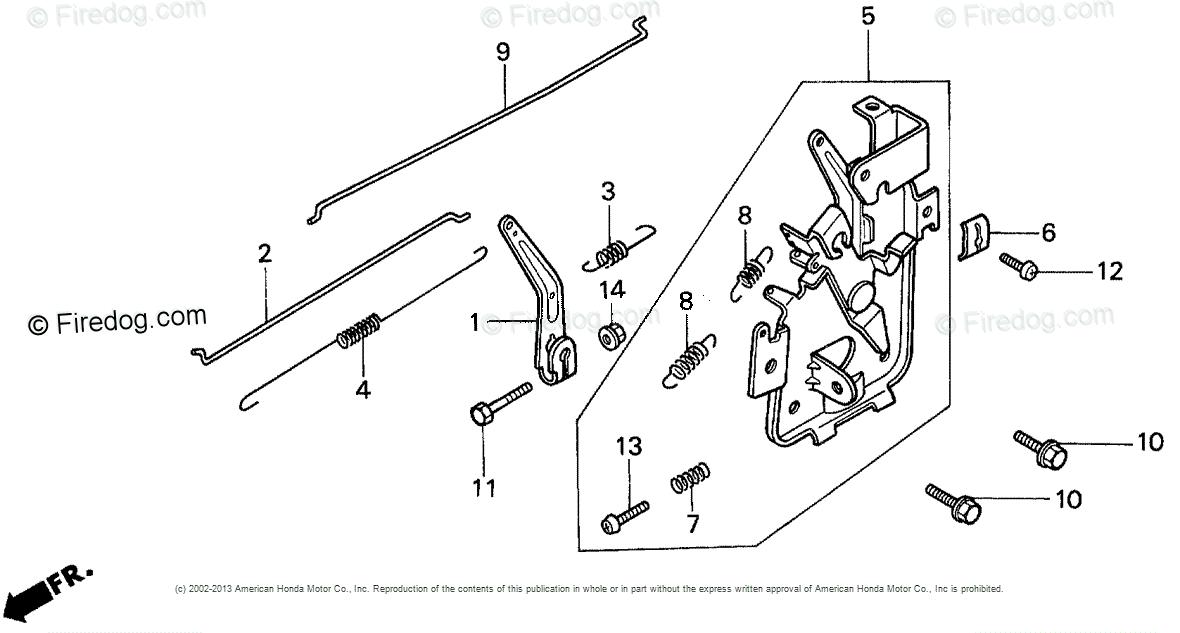 Honda Power Equipment Lawn Mower HR173 PDA LAWN MOWER, USA