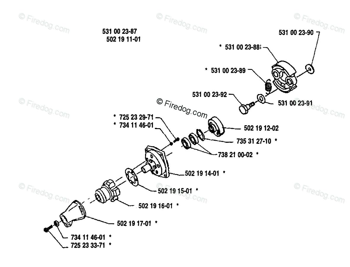 Husqvarna Line Trimmer 125 L 01 Oem Parts Diagram