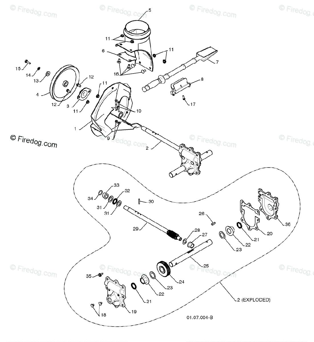 Husqvarna Snow Thrower 5524 SB (96193002500) (2008-08) OEM