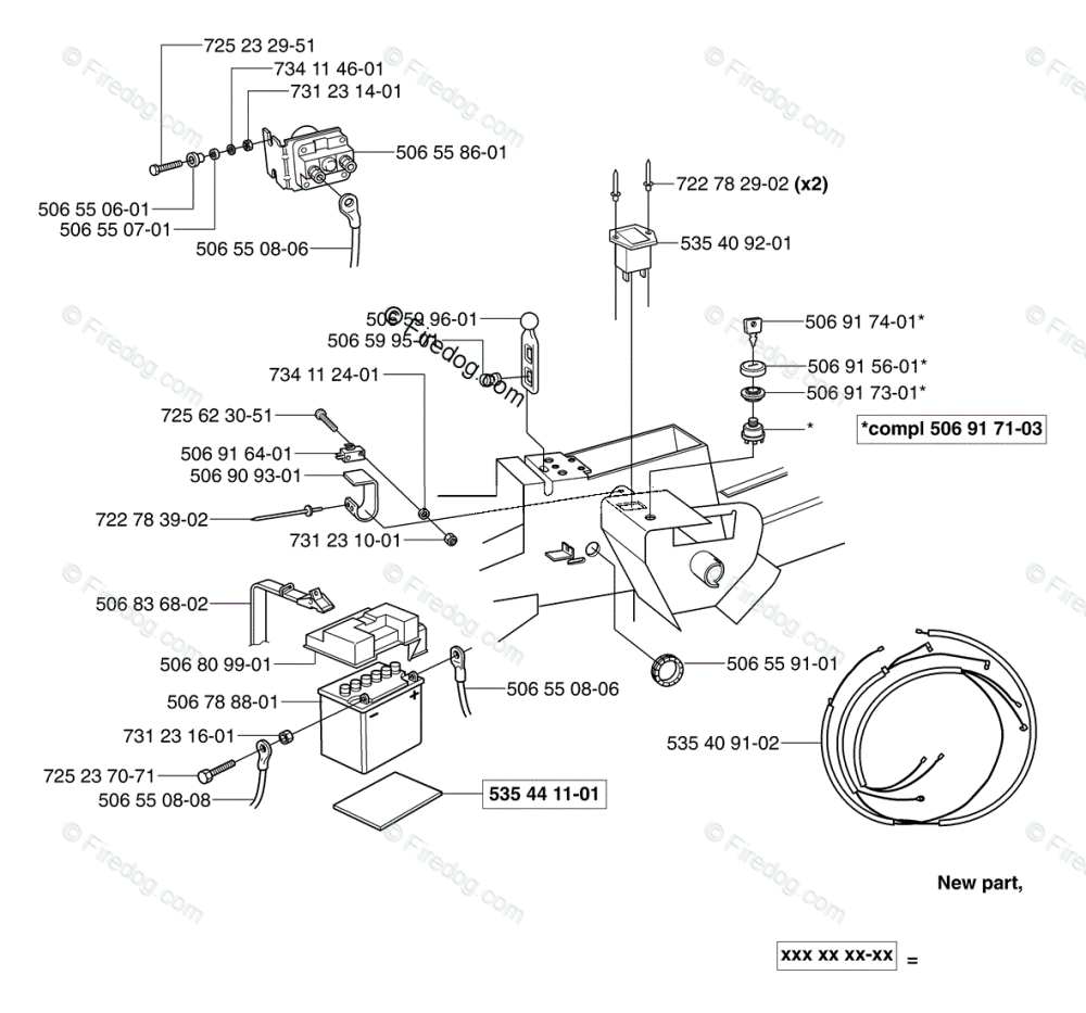 medium resolution of husqvarna ride mower rider pro 15 2003 01 oem parts diagram for electrical firedog com