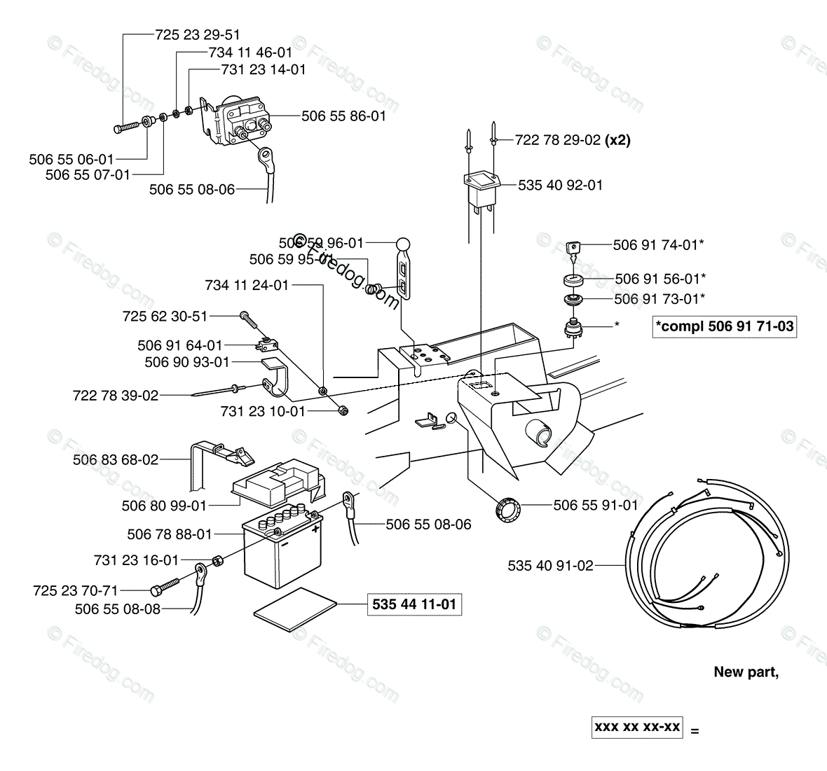 hight resolution of husqvarna ride mower rider pro 15 2003 01 oem parts diagram for electrical firedog com