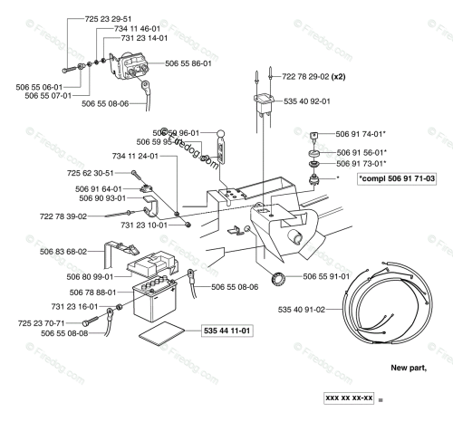 small resolution of husqvarna ride mower rider pro 15 2003 01 oem parts diagram for electrical firedog com