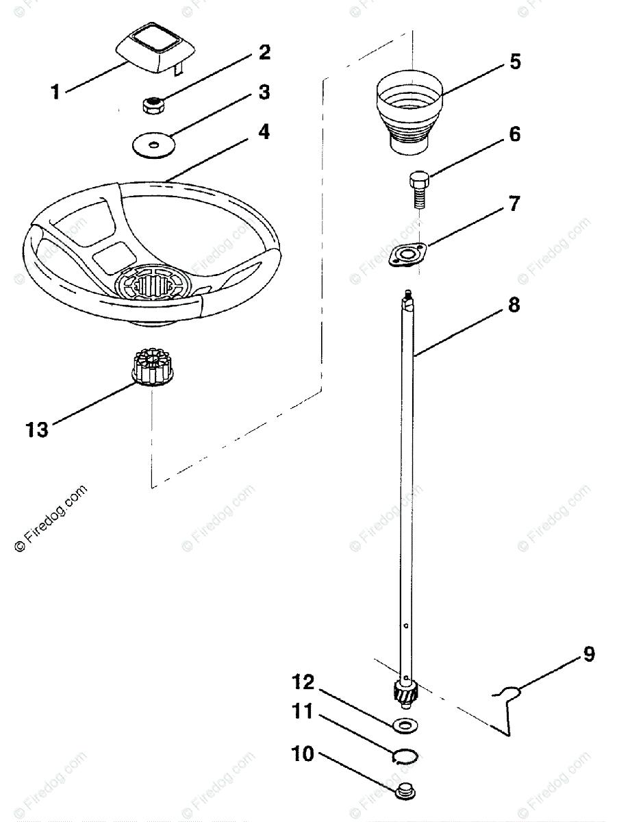 hight resolution of husqvarna ride mower lr 12 har1236a 954000752 1994 05 oem parts diagram for steering wheel firedog com