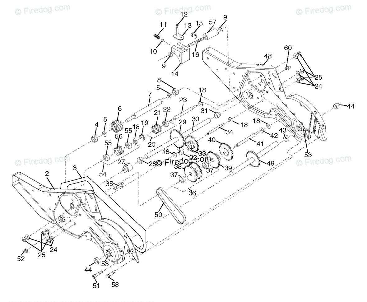 Husqvarna Tiller 700 DRT (96093000401) (2006-02) OEM Parts