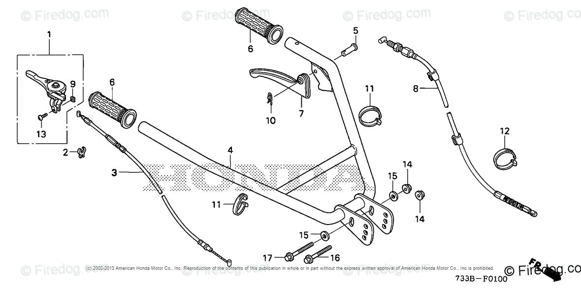 Honda Power Equipment Rototiller FC600K1 A ROTOTILLER, JPN