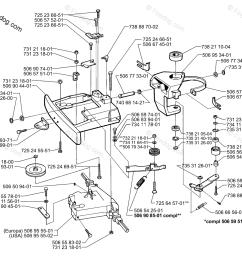 husqvarna lawn mower rider 970 1997 04 oem parts diagram for belt tensioner assembly firedog com [ 1180 x 1036 Pixel ]