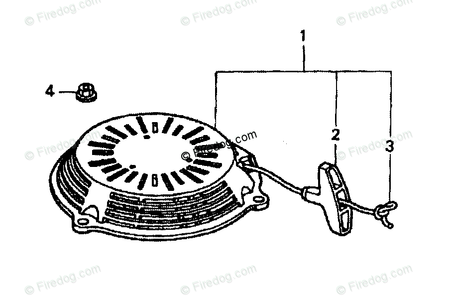 29 Briggs And Stratton Pull Start Assembly Diagram