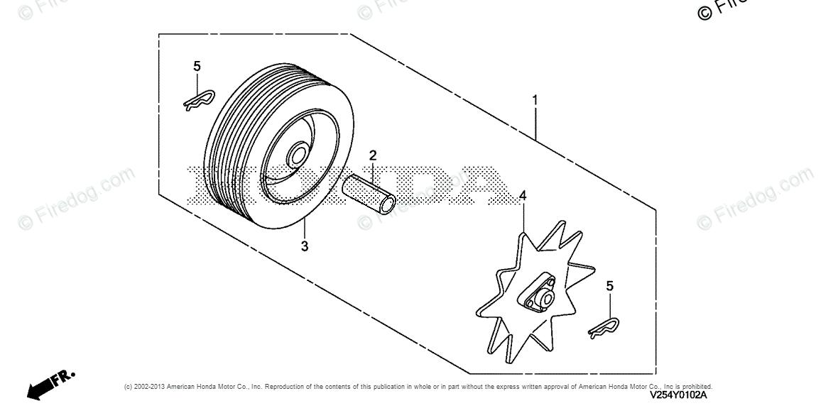 Honda Power Equipment Rototiller FG110K1 AT ROTOTILLER