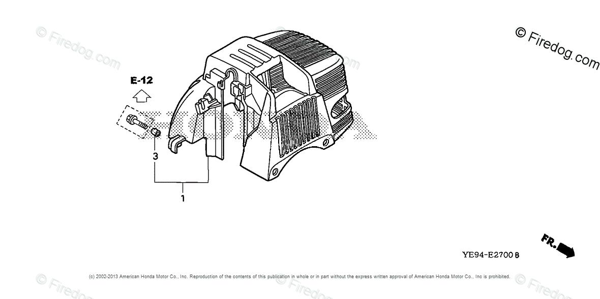 Honda Power Equipment Water Pump WX10 A1 WATER PUMP, JPN