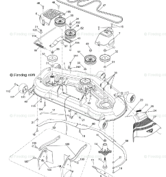 husqvarna ride mower lgt 2554 96045001500 2009 01 oem parts diagram for mower deck firedog com [ 960 x 1200 Pixel ]