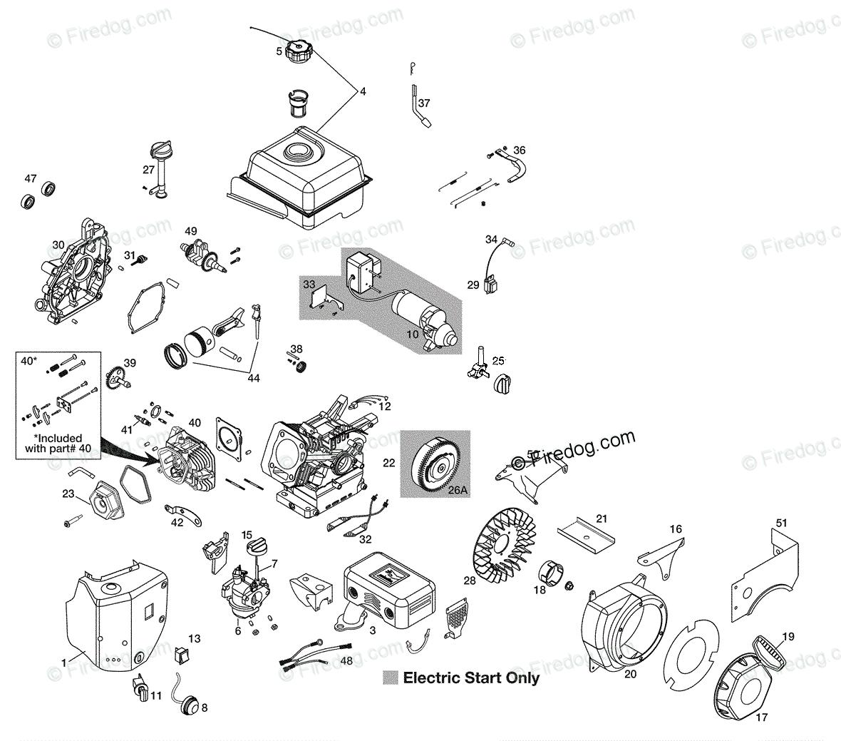 hight resolution of husqvarna snow blower 1827 sb 961930047 2009 07 oem parts diagram for engine firedog com