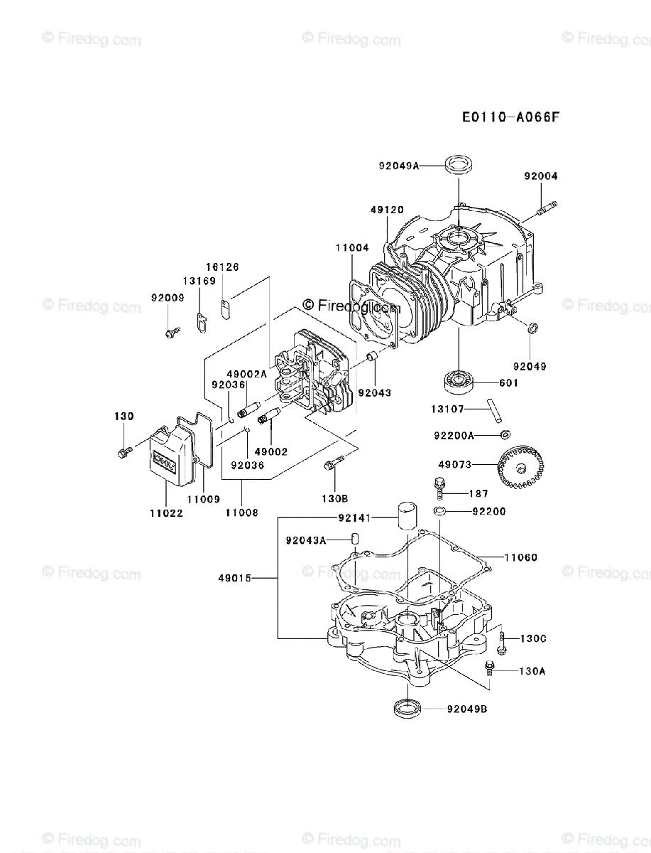 Kawasaki fc540v manual