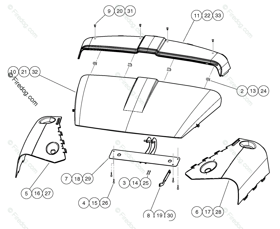 Husqvarna Utility Vehicle Huv D Oem Parts