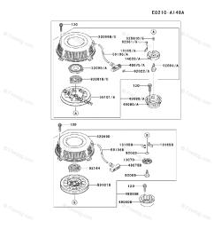 kawasaki 4 stroke engine fb460v oem parts diagram for starter firedog com [ 917 x 1200 Pixel ]