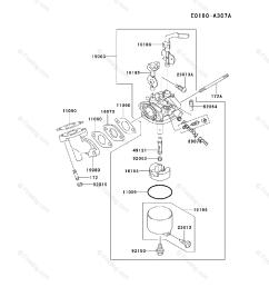 kawasaki 4 stroke engine fe170d oem parts diagram for carburetor firedog com [ 917 x 1200 Pixel ]