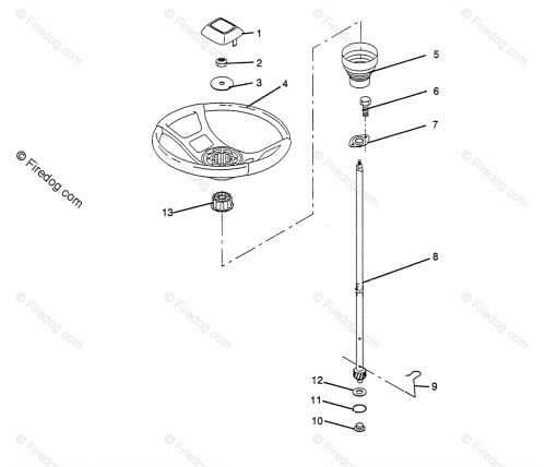 small resolution of husqvarna ride mower lt 920 12 h1292a 954000251 1993 01 oem parts diagram for steering wheel firedog com