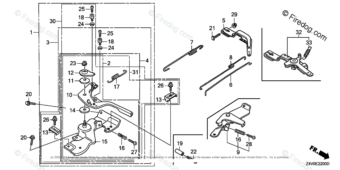 Honda Engines Engine GX OEM Parts Diagram for Control