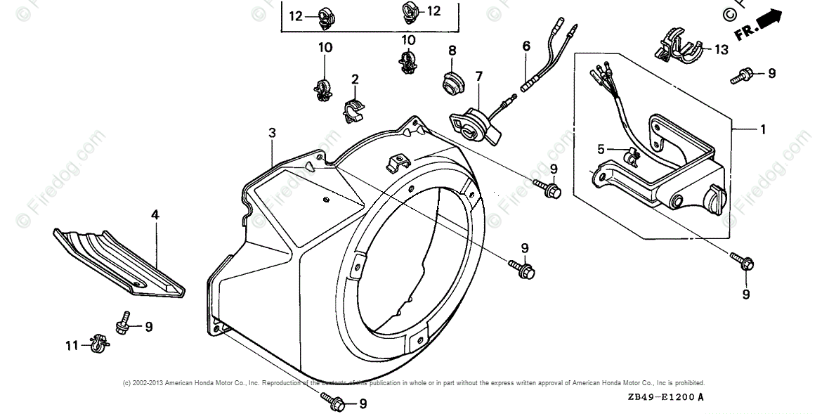 Honda Power Equipment Generator EG3500XK1 AN GENERATOR