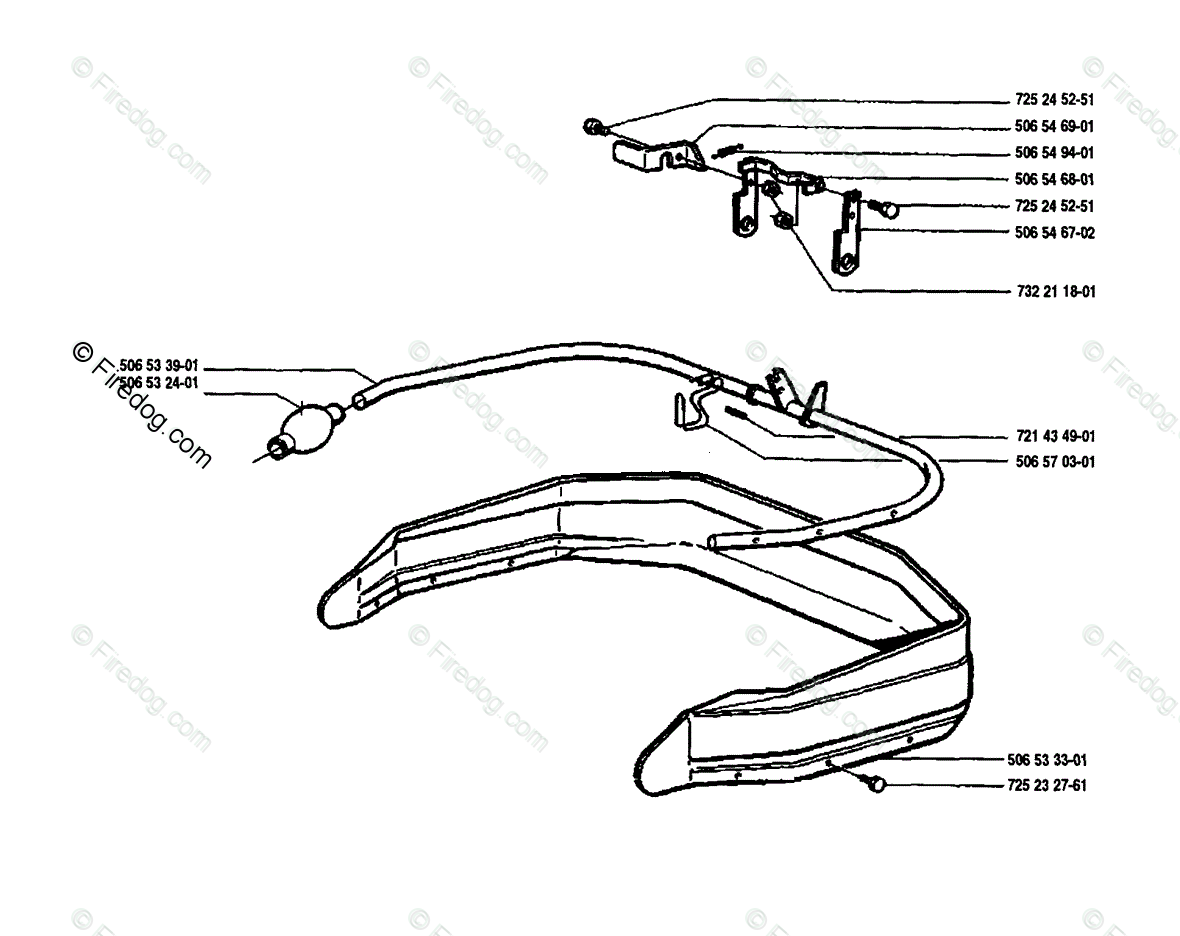 Husqvarna Ride Mower Rider 850 12 (1989-02) OEM Parts
