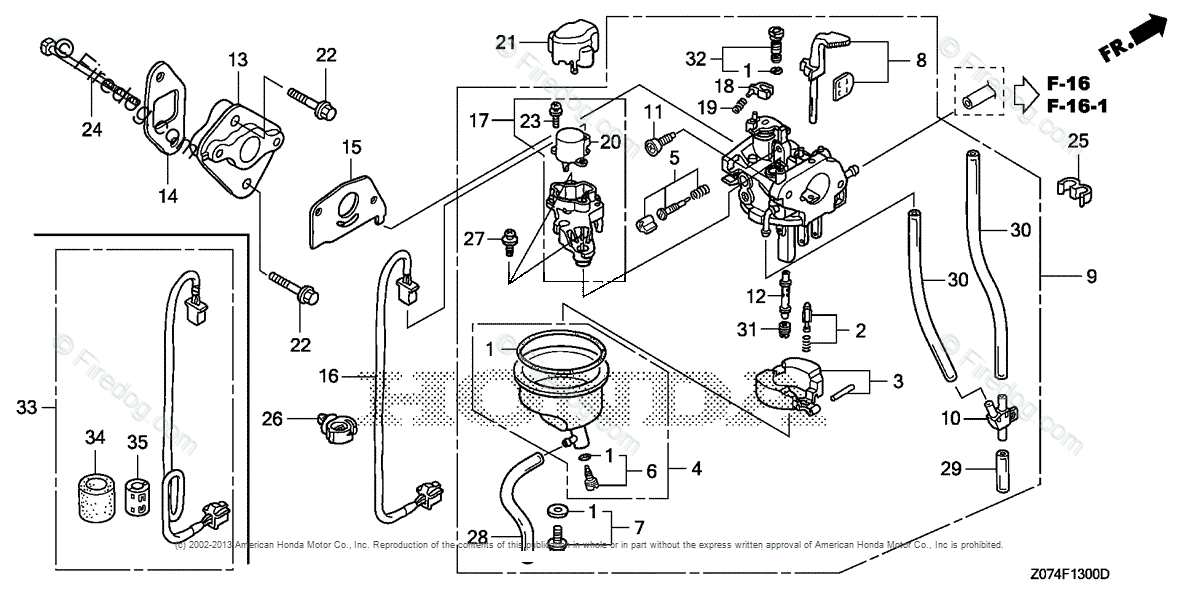 Honda Power Equipment Generator EU2000I AN2 GENERATOR, JPN