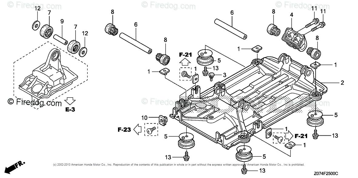 Parts Generator Honda List Eu2000i Eaaj1694017