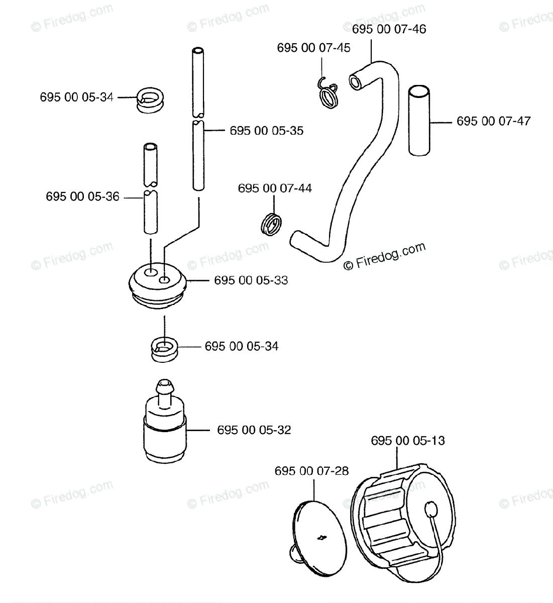 Husqvarna Blower 145 BT California (Carb II) (2001-04) OEM