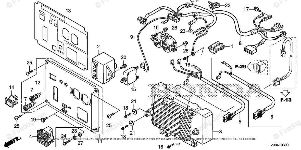 Honda Power Equipment Generator EU2000IT1 A1 GENERATOR